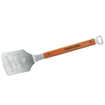 The Sportula BBQ Spatula With Flippin' Awesome Design - Personalization Available