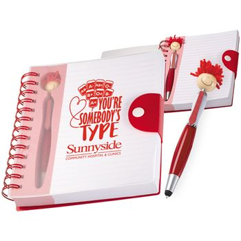 You're Somebody's Type MopTopper™ Stylus Pen & Notebook - Personalization Available