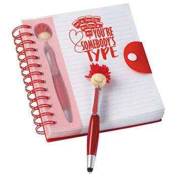 You're Somebody's Type MopTopper Stylus Pen & Notebook