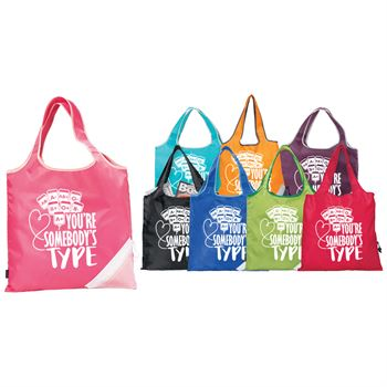On-The-Go Foldaway Shopper Tote With Personalization