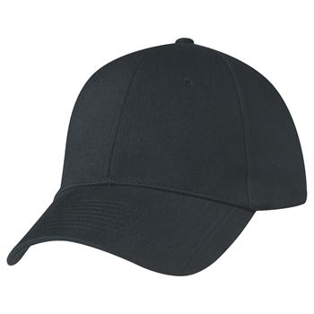 100% Brushed Cotton Twill Sports Cap