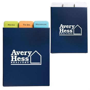 Three Message Sticky Pad Set - Personalization Available