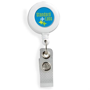 Round Badge Holder - Personalization Available