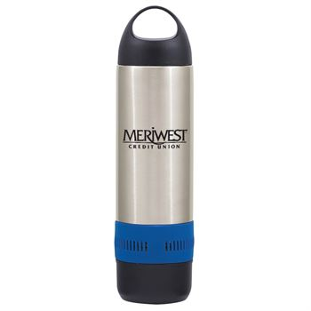 Stainless Steel Rumble Bottle With Speaker 17-oz. - Personalization Available