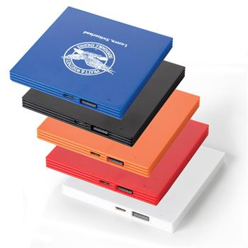 Super Slim Square Power Bank - Personalization Available