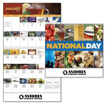 National Day 2019 Calendar - Spiral - Personalization Available