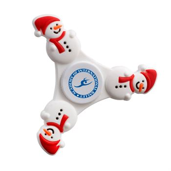 Snowman Fidget Spinner - Personalization Available