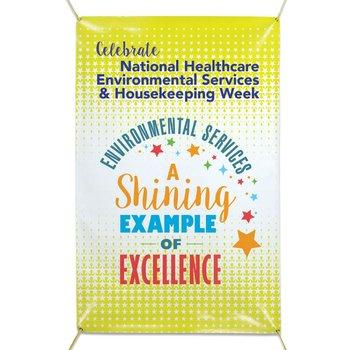 National Healthcare Environmental Services & Housekeeping Week Vinyl Banner