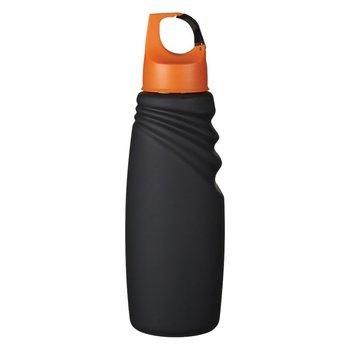 24oz. Matte Finish Crest Carabiner Sports Bottle