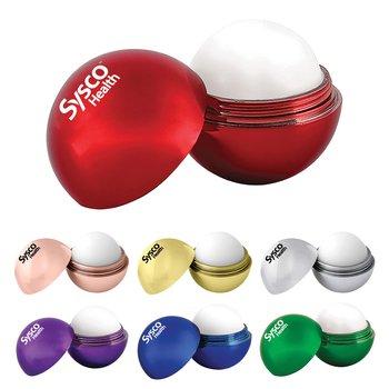 Metallic Finish Round Lip Balm - Personalization Available