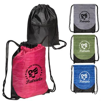 Rio Grande Drawstring Backpack - Personalization Available