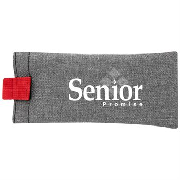Heathered Eyeglass Pouch - Personalization Available