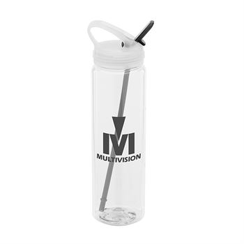 Water Bottle With Flip-Up Spout 32-oz. - Personalization Available