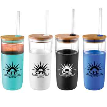 Poppi Glass Tumbler 20 oz