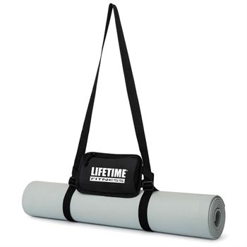 Yoga Mat With Cell Phone Holder - Personalization Available