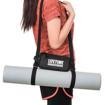 Yoga Mat With Cell Phone Holder