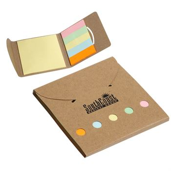 Square Deal Sticky Note Wallet - Personalization Available