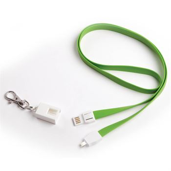 2-In-1 Charging Cable In Clip