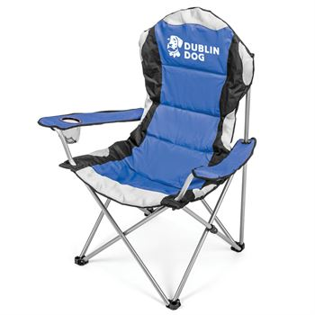 Go-Everywhere Padded Fold-Up Lounge Chair - Personalization Available