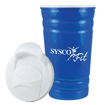 Fiesta Cup With Lid 16-oz. - Personalization Available