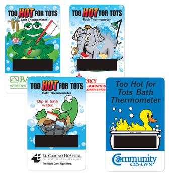 Bath Thermometer Card - Personalization Available