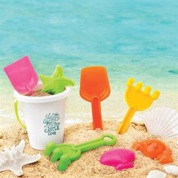 Mini Beach Bucket Set - Personalization Available
