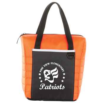 Quilted 12-Can Lunch Cooler - Personalization Available