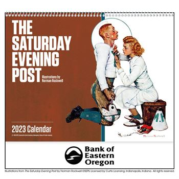 The Saturday Evening Post 2020 Calendar Norman Rockwell- Spiral - Personalization Available