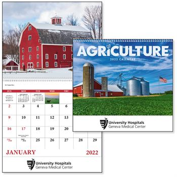 Agriculture 2021 Calendar - Spiral -� Add Your Personalization