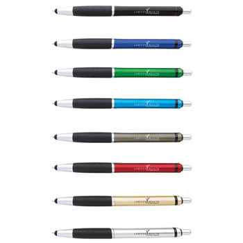 Jive Metallic Pen With Stylus - Personalization Available