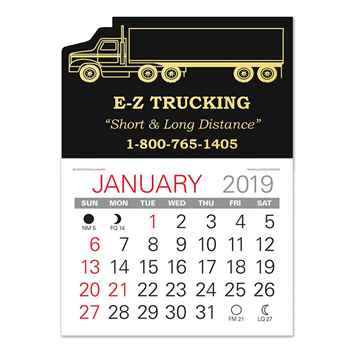2019 Value Stick-Up Semi Calendar - Personalization Available