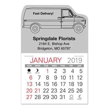 2019 Value Stick-Up Van Calendar - Personalization Available