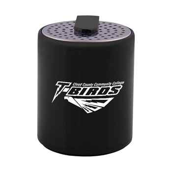 Round Plastic Mini Bluetooth® Wireless Speaker - Personalization Available