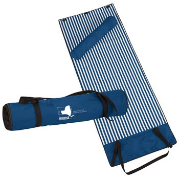 Roll-Up Beach Blanket With Pillow - Personalization Available