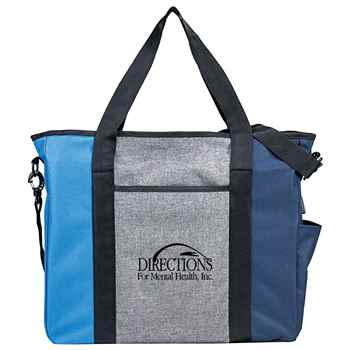 Triad On-The-Go Zippered USB Tote Bag - Personalization Available
