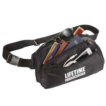 BrightTravels RFID Waist Pack - Personalization Available