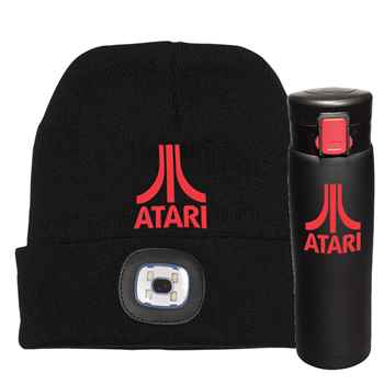 LED Beanie & Vacuum Bottle Gift Set - Personalization Available