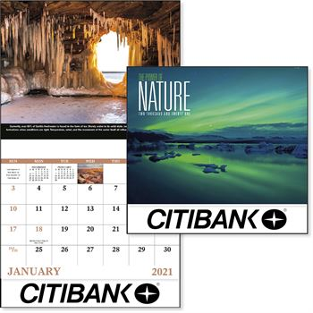 The Power Of Nature 2020 Calendar - Stapled - Personalization Available