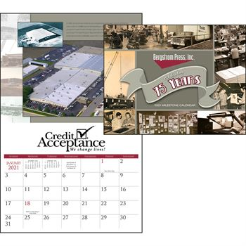 Small Quantity Custom 2020 Calendar - Stapled - Personalization Available