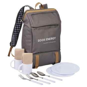 Cafe Picnic Backpack For Two