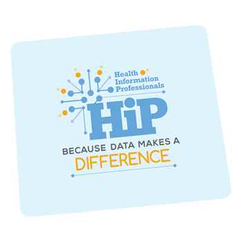 Health Information Professionals: Because Data Makes A Difference Antibacterial Mouse Pad