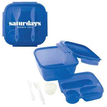 Salad To Go Container - Personalization Available