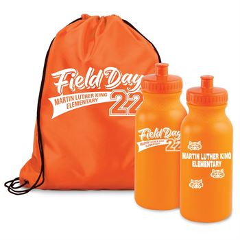 Field Day Water Bottle/Backpack Combo Pack