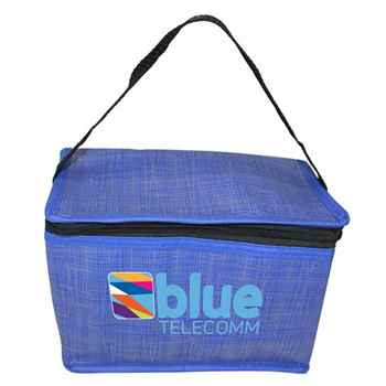 Criss Cross Non-Woven Lunch Bag - Personalization Available