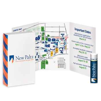 Trifold Booklet With Lip Balm - Personalization Available