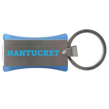 Nantucket 4GB USB Flash Drive Key Ring - Personalization Available