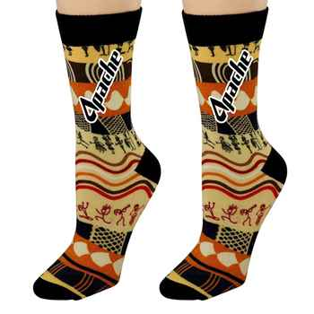 Vibrant Custom Socks - Personalization Available