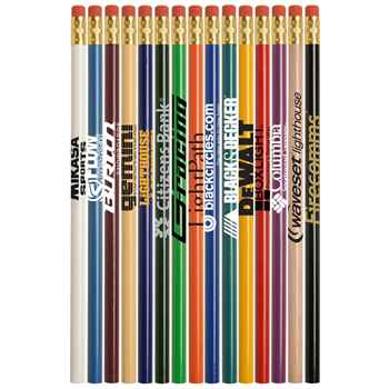Economy Line Round Pencil - Personalization Available