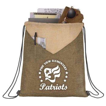 Kai Drawstring Bag - Personalization Available