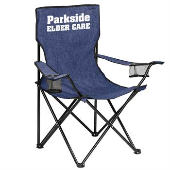 Game Day Heathered Chair - Personalization Available